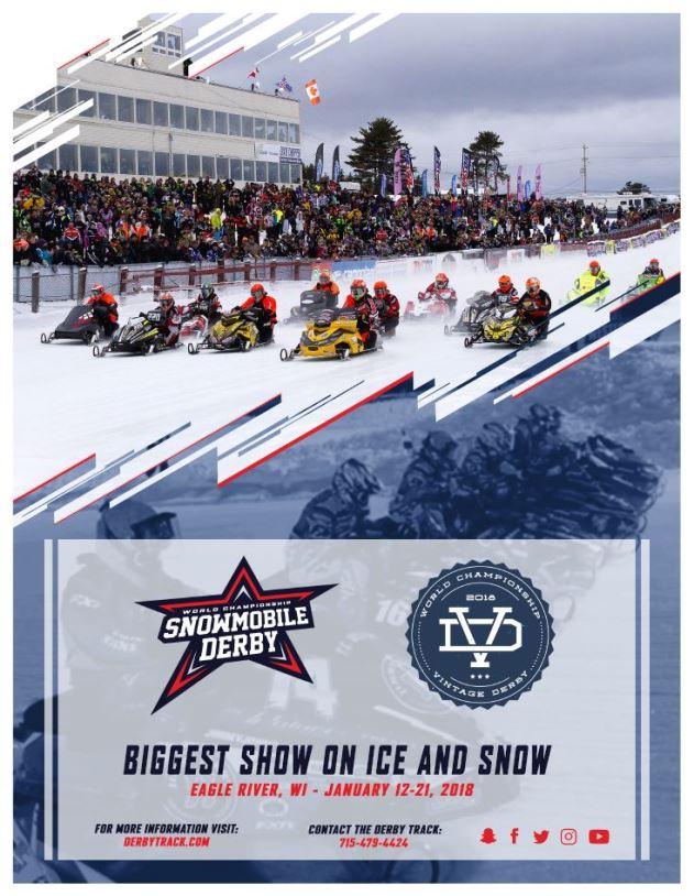 2018 Snowmobile Derby Flyer